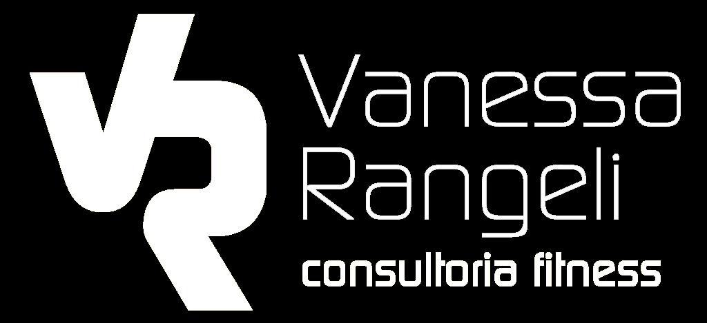 Logotipo branco vanessa rangeli